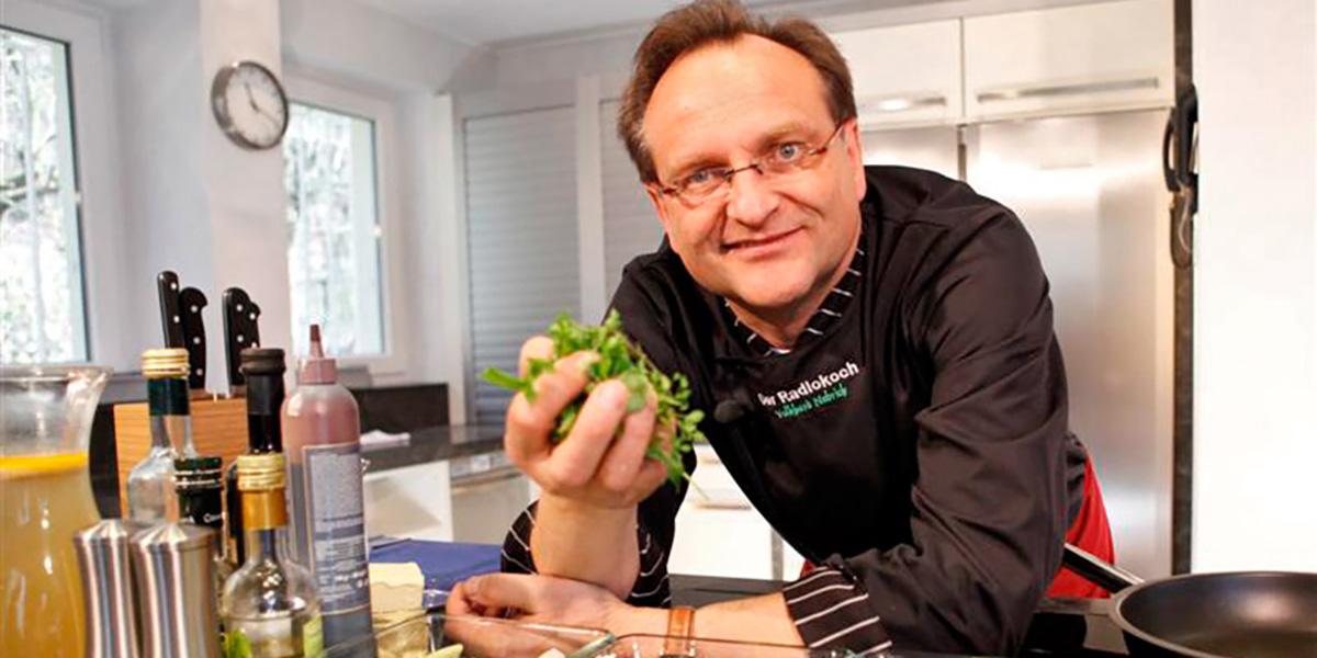 Wir sind Exklusiv-Sponsor des Radiokochs Volkhard Nebrich